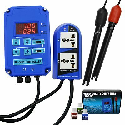 pH ORP Redox Controller Monitor Output Power Relay Control Aquarium Hydroponics