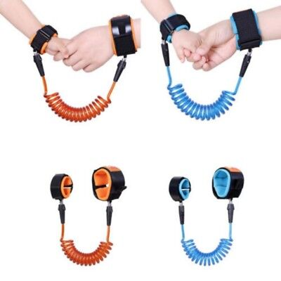 Kids Toddler Baby Anti-Lost Safety Outdoor Walking Lead Wrist Band Harness Belt