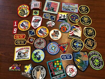 Lot of 40+ Boy Scout / Cub Scout Badges