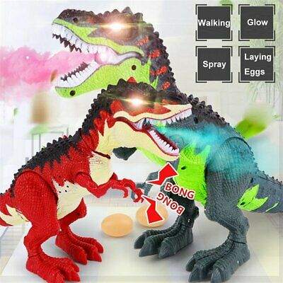 Walking Dragon Toy Fire Breathing Water Spray Dinosaur Christmas Kid Gift Toy