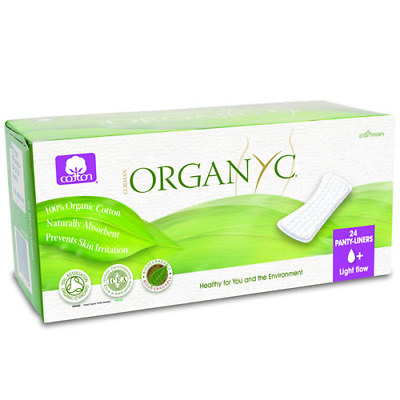 Organyc Light Flow  24 Panty Liners (Pack Of 2)