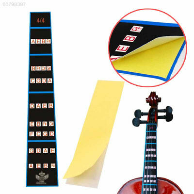 6494 2017 4/4 Violin Fiddle Position Marker Tape Fingerboard Chart Finger Marker