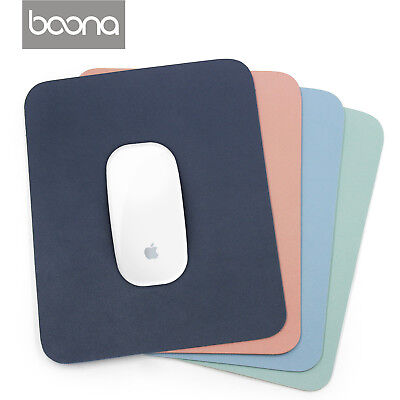 Baona PU Non-Slip Mouse Pad Stitched Edge PC Laptop For PC Gaming Rubber Base