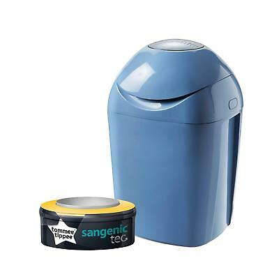 Tommee Tippee Sangenic Tec Nappy Disposal Tub, Blue