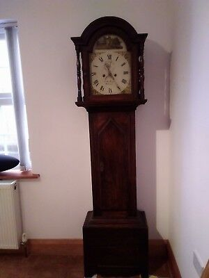 Antique Grandfather Clock, 8 Day Longcase, Restoration Project