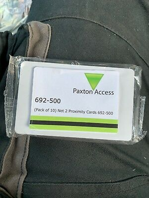 Paxton Access Net2 Proximity Cards 692-500 Pack of 10
