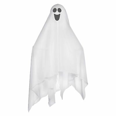 Hanging Halloween Decoration Fabric Ghost Spooky With Bendable Soft Foam Arms