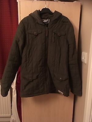 Boys Padded Hooded Winter Jacket, Chest Size 36/38