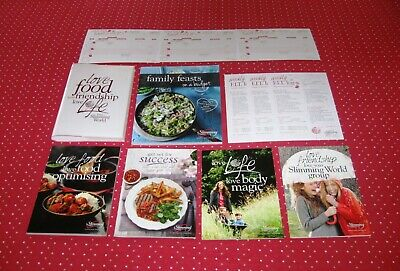 B/New! Slimming World 2018 Starter Pack+Syn Directory & Free Cookbook Post Today