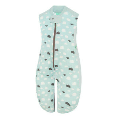 ergoPouch Sleep Suit Bag 0.3 tog - Mint Clouds 2 - 12 Months FREE SHIPPING