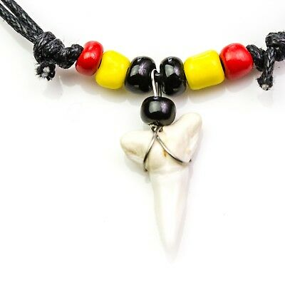 SHARK TOOTH BLACK RED ABORIGINAL INDIGENOUS FLAG NATIVE AUSTRALIAN PRIDE c137