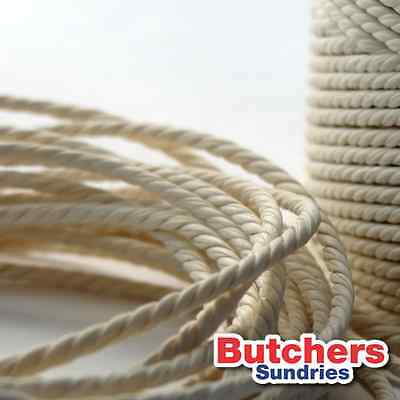 2 x 10m White Bakers, Butchers, Garden,Craft, Parcel String Twine Made in the UK