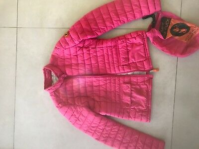 save the duck ladies cerise ultra lightweight jacket xs