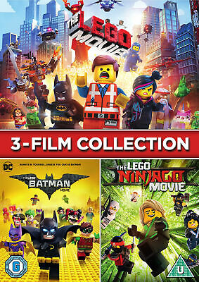 LEGO 3-Film Collection [2018] (DVD)
