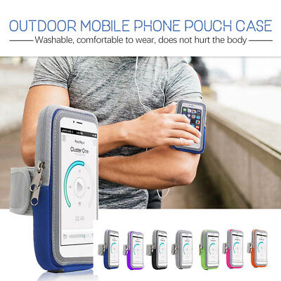 Sports Gym Armband Arm Case Running Exercise Apple iPhone XS Max XR X 8 7 6 W0