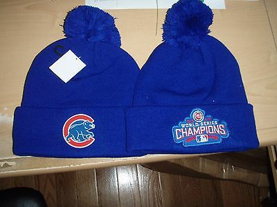 32feb042f47 Chicago Cubs 2016 World Series Champions MLB Knit Hat - NWT s - Free  Shipping!