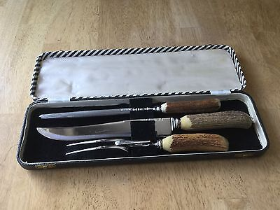 Vintage John McClory & Sons Sheffield England Carving Set