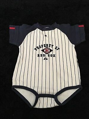 Boston Red Sox Baby Vest Romper Grow Age 24 Months