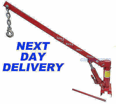 1000lb 450 kg Hydraulic Pick up Truck Crane Hoist - NEXT DAY DELIVERY