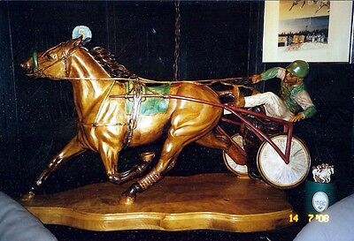 Horse Carving by William Duley