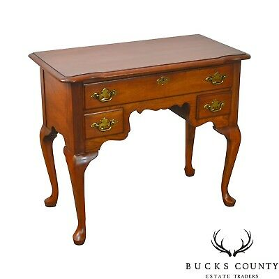 Pennsylvania House Traditional Vintage Solid Cherry Queen Anne Lowboy