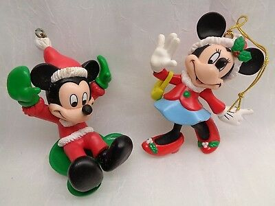 Mickey & Minnie Mouse Christmas Ornaments Disney