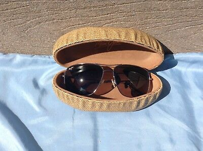 New Without Tags Maui Jim Sunglasses Cook Pines Gray Frames Polarized Hs774-16