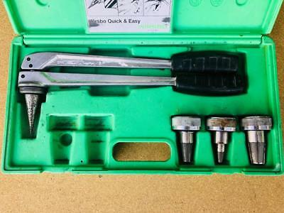 """Wirsbo Uponor Pex Expander Tool 1/2"""" 3/4"""" 1"""" In Good Condition"""