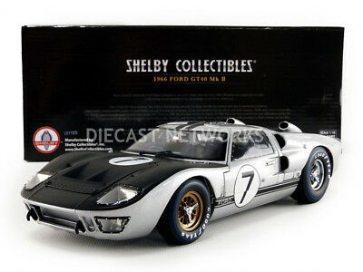 Shelby Collectibles - 1/18 - Ford Gt 40 Mk Ii - Le Mans 1966 - Shelby404