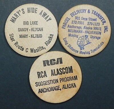 Alaska Wooden Nickels