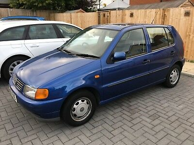 VW Polo 1.4CL petrol, 1999, 37388 miles only, MOT until August 2019.
