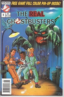 Real Ghostbusters (1988-90) #1 Now Comics Vf /1295/