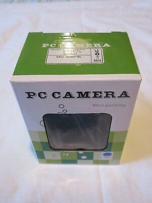 PC USB Camera - 6 LED, 50 Mega Pixels, Microphone (Mini Packing)