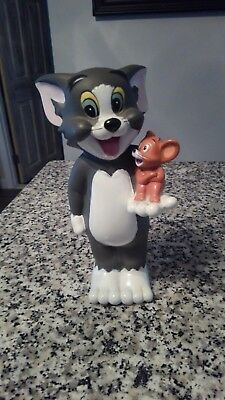 Vintage Tom And Jerry Bank Vinyl
