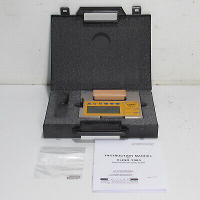 Wyler Fowler Clino 2000 45 Degree Inclionmeter Handheld Precision Level