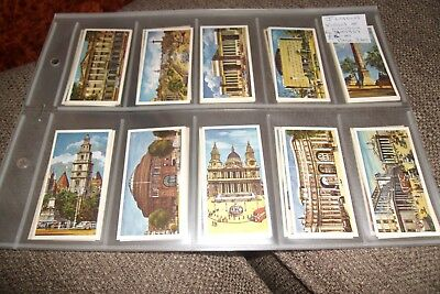 Views Of London  Issued Lyons Maid Ice Cream  F/s 40 Confectionery Cards 1967