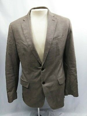 Banana Republic Tailored Fit Tan 2 Button Blazer Jacket - Size 40 R