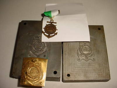 Trail Medal, Production Die and Master Hub-Old Town Historical Trail(Alexandria)