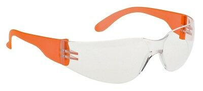 Portwest PW32 Wrap Around Safety Spectacle Glasses Clear Lens