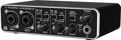 Behringer U-Phoria UMC202HD Audio/MIDI Interface