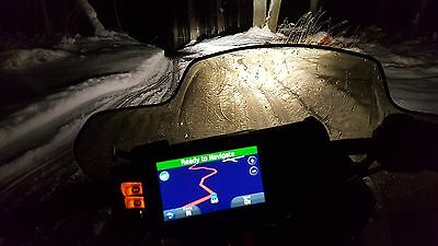 Garmin GPS With 2018 Snowmobile and ATV Maps Installed Waterproof Mount Included