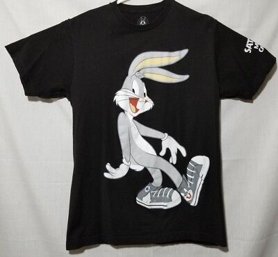 Journeys Looney Tunes Bugs Bunny STAFF T Shirt Saturday Morning Cartoons  adult M 3ca039b85