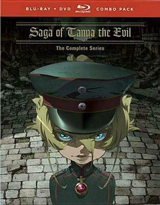 Saga of Tanya the Evil: the Complete Series - Blu-Ray Region 1 Free Shipping!