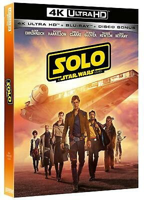 Star Wars - Solo: A Star Wars Story (Blu-Ray 4K Ultra Hd+2 Blu-Ray... - Movie