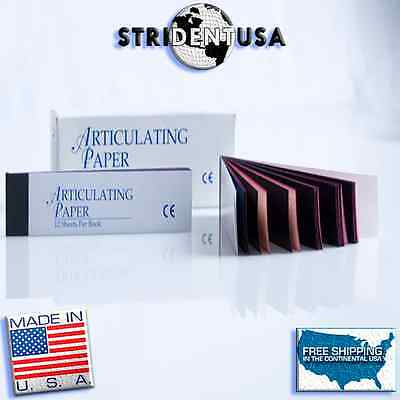 Articulating Paper Red / Blue Combo 144 Sheets  Made In Usa