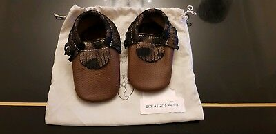 First steps baby shoes, Moccasins