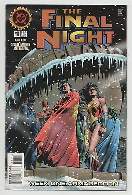 The Final Night #1 (DC, 1996) Superman, Batman & Wonder Woman - Karl Kesel