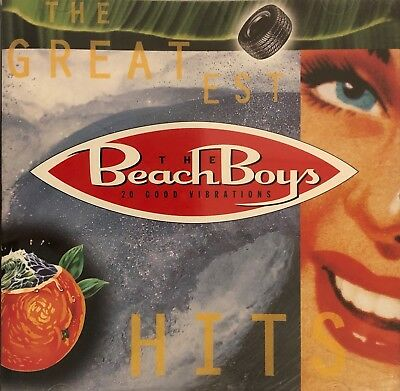 Beach Boys 20 Good Vibrations Best of / Greatest Hits CD, Tested