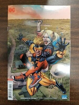 Heroes in Crisis #1 (DC 2018) 1:50 JG Jones variant 1st PRINT! SOLD OUT!