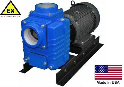 "CENTRIFUGAL PUMP Explosion Proof - 31,200 GPH - 10 Hp - 230/460V - 4"" Ports"